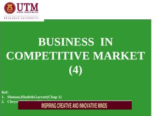 EA  L4  BUSINESS IN COMPETITIVE MARKET[IV].pptx