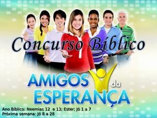 Concurso Bíblico 2011 - 22.ppt