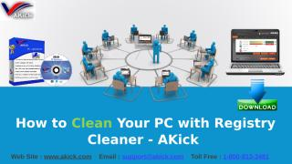 How to Clean Computer Registry with PC Optimizer - AKick.pptx