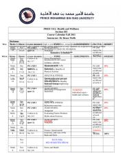PHED 1112-course calendar-Fall 2011-2012-103.doc