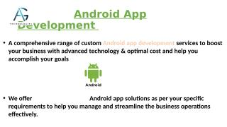Android App Development In India.pptx